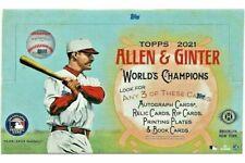 2021 Allen & Ginter HOT BOX SILVER FOIL *YOU PICK* 1-175 HOFs RCs BUY 2+ & SAVE