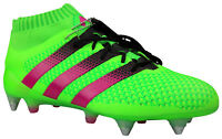 Adidas ACE 16.1 SG Fußballschuhe Stollen Socke grün 16+ AQ2546 Gr. 39 - 48 NEU