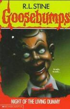 Night of the Living Dummy (Goosebumps) - Good - Stine, R. L. - Paperback