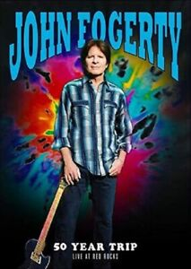 John Fogerty 50 Year Trip Live At Red Rocks  Fifty New Region 4 DVD