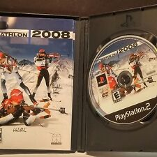 Biathlon 2008 (Sony PlayStation 2, 2008)(WITH CASE AND MANUAL)