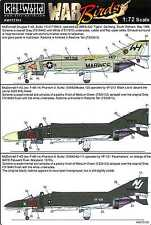 Kits World Decals 1/72 MCDONNELL DOUGLAS F-4 PHANTOM II Part 1