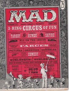 Mad Magazine #29 Unrestored Golden Age EC 1956 G/VG Wood Wolverton Kamen Elder