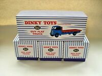 JOBLOT  Atlas Dinky 4 x EMPTY STORAGE BOXES Ideal for storing Cars, Vans etc