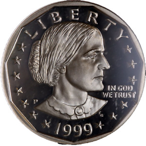1999-P Susan B. Anthony Dollar NGC PF70UC Great Eye Appeal -  STOCK