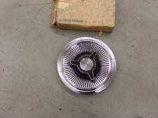 NOS PONTIAC 1965 BONNEVILLE SPINNER HUBCAP EARLY STYLE WITH SLOTTED CENTER  11