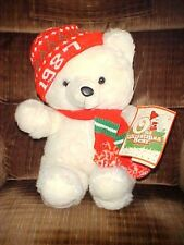 1987 Male Christmas K-Mart Bear With Tags Dan Dee Co. 20""