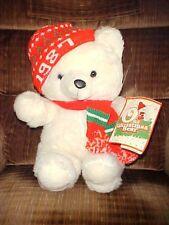 "1987 Male Christmas K-Mart Bear With Tags Dan Dee Co. 20"""