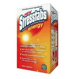 STRESSTABS ENERGY VITAMIN TABLET 60CT