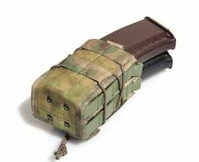 Tactical Double Rifle Magazine Pouch MOLLE A-TACS FG