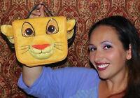DISNEY STORE LION KING SIMBA Pencil PEN MARKER VIDEO GAME ETC CARRY Case RARE