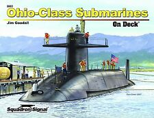 SQU 5603 Ohio-Class Submarines On Deck Free Shipping