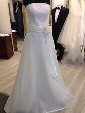 Augusta Jones Satin/Organza Pale Ivory Sample 2 Piece Wedding Gown RRP£1250