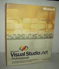 MICROSOFT VISUAL STUDIO .NET PROFESSIONAL PRO USATO PC CDROM ED ITA VBC 44840
