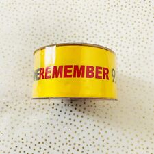 "We Remember 9/11 Yellow Ribbon By 2011 Simplicity Creative Group 1.5"" x 15' Roll"