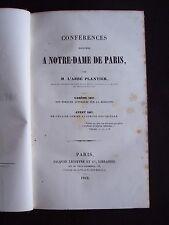Conférences données à Notre-Dame de Paris