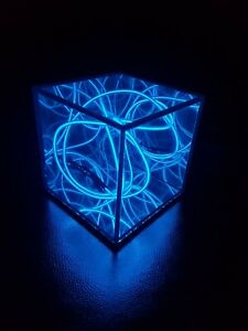 Pocket Universe Infinity Mirror Cube - 6 Colour Fun New Glow Activity Light Toy