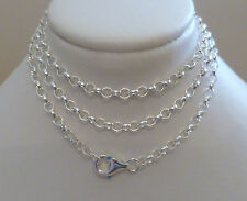 Sterling Silver Belcher Chain - 50cm's 20 Inches N38