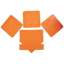 MacGregor® Orange Throw Down Bases - 5 Piece Set