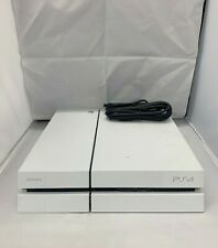 Sony PlayStation 4 PS4 Launch Edition 500GB White Console Only