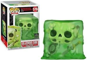 DUNGEONS AND DRAGONS FUNKO POP 576 CUBO GELATINOSO SPRING CONVENTION EXCLUSIVE