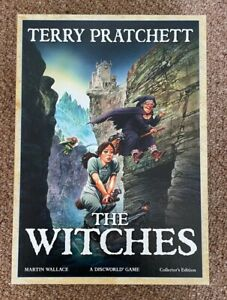 TREEFROG - Terry Pratchett - The Witches - A Discworld Game Collector's Edition