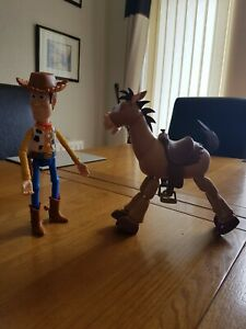 Toy story woody and bullseye