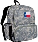 "Wildkin State of Mind Texas Flag Megapak 17"" Backpack - Digital Camo"