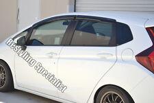 JDM Mu style OEM quality 2015-16 Fit 4dr window visor vent shade deflector