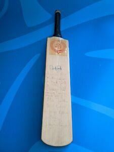 Vintage Signed Mini Cricket Bat Northampton County Cricket Club (1987-1990)