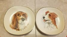 Weatherby Hanley England Royal Falcon Ware 2 Dog Small Dish