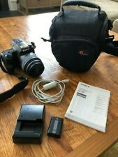 Sony Alpha A37 DSLR Camera with 18-55mm Lens Kit SLT-A37K - LOOKS BRAND NEW