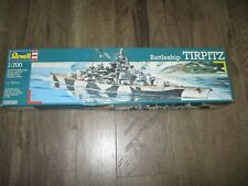 REVELL BATTLESHIP TIRPITZ PLASTIC MODEL KIT 1:700 SEALED 05099