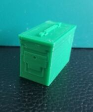 RC 1/10 Scale Green Ammo Can Box Bullet Rock Crawler Doll Miniature Accessories