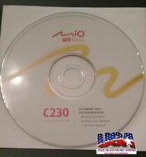 MIO DigiWalker GPS C230 Maps, User Manual and Driver Disc (PC, Software)