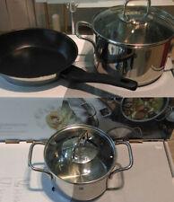 Ollas y cacerolas de cocina WMF acero inoxidable