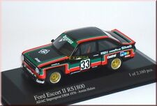 Ford Escort II MK2 RS1800 Supersprint DRM 1976 Hahne Minichamps 400768433 1:43
