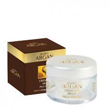 Qualikos Argan Crema Viso Antiage Pelli Grasse 100% Biologica 50ml