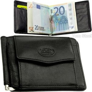 Tony Perotti Geldbörse Leather Money Clip Börse Geldklammer Portemonnaie Leder