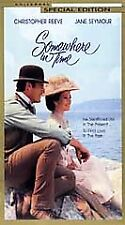 Somewhere in Time VHS Jane Seymour C Reeve 2000 20th Anniversary Edition Canada
