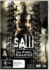 Saw the Final Chapter Tobin Bell Region 4 DVD VGC