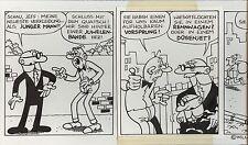 Originalzeichnung Clever und Smart  Parodie für  deutsche MAD  v  Astalos Ivica