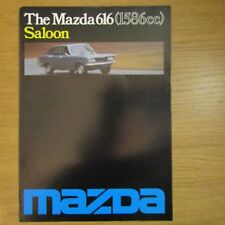 MAZDA 616 1586cc 4 Door Saloon UK Market Original Car Sales Brochure 1976