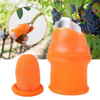 Garden Harvesting Plant Silicone Thumb Cutter Separator Finger Picking Device