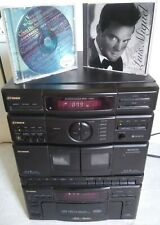 FISHER - 1990 TAD-M15 RADIO/10 CD compact/TAPE RECEIVER Head/incl. 2 free cd's