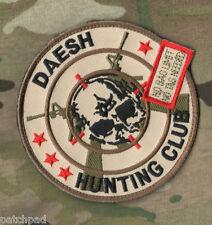 DAESH WHACKER GREEN BERETS US ADVISORS in MOSUL vel©®😎 PATCH: DAESH HUNT CLUB