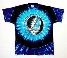 Grateful Dead Shirt T Shirt Vintage 1994 Fall Tour East Coast USA Tie Dye GDM XL