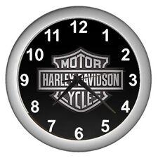 Harley Davidson Logo Wall Clock