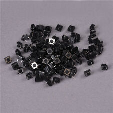 100X Momentary Tactile Tact Push Button Schalter 2 Pin DIP 6x6x4.3mm hoch 4HK