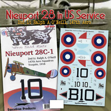 Nieuport 28 C.1: Ralph A O'Neil, 147th Aero (1/32 decals, Superscale 320244)